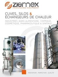 Cuves, Silos & échangeurs de chaleur industries agro-alimentaire, chimique, cosmétique, pharmaceutique & spatiale
